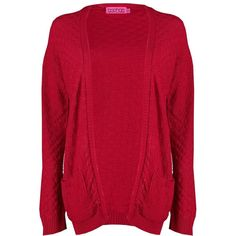 Boohoo Paige Checkerboard Edge to Edge Cardigan | Boohoo ($12) ❤ liked on Polyvore featuring tops, cardigans, red cardigan, knit cardigan, wrap cardigan, marled knit cardigan and marled cardigan