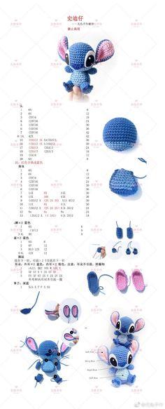 Mesmerizing Crochet an Amigurumi Rabbit Ideas. Lovely Crochet an Amigurumi Rabbit Ideas. Crochet Disney, Crochet Kawaii, Art Au Crochet, Cute Crochet, Crochet Crafts, Crochet Projects, Scarf Crochet, Crochet Ideas, Crochet Blankets