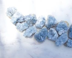 How To Use Celestite Crystals To Get A Soothing Night's Rest - The Chalkboard