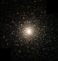 M 80 - one of the Globular Cluster satellites of our galaxy. Known for having a lot of blue stragglers - stars that seem significantly younger than the bulk of the population.