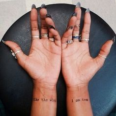Pin for Later: 30 Tiny, Chic Wrist Tattoos That Are Better Than a Bracelet Daily Reminders