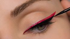 Second line for double eyeliner look