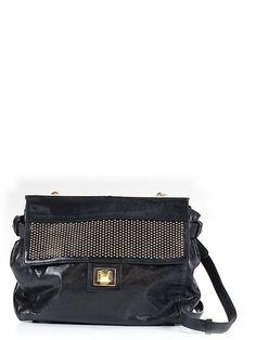 Badgley Mischka Leather Shoulder Bag 68% off retail on @thredup