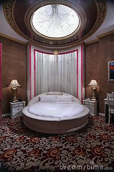 ROUND BED PLEASE! But alittle but bigger