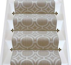 Axminster Carpets Royal Borough Geometric Kensington Egyptian Dark Cotton Stair Runner (per M - Carpets Mag Basement Carpet, Carpet Stairs, Carpet Flooring, Stairway Carpet, Hallway Carpet Runners, Cheap Carpet Runners, Stair Runners, Carpet Runner On Stairs, Staircase Runner