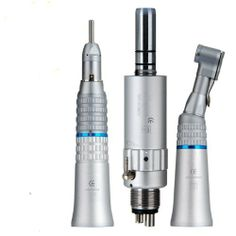 Brand NEW Dental Low Speed 4 Hole Handpiece Kit Contra Angle Straight Cone NSK by JAM_Instrument.