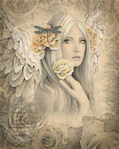 Jessica Galbreth 4 - Vintage Fantasy Art by Jessica Galbreth  <3 <3