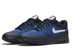 Nike Wmns Air Max 1 Ultra Flyknit Dark Obsidian White Racer Blue (843387-401)…