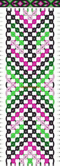 http://www.braceletbook.com/pattern_normal/11733.html .. http://www.braceletbook.com/pattern_normal/11461.html