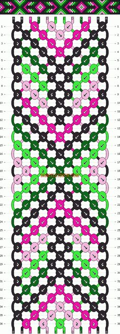 http://www.braceletbook.com/pattern_normal/11733.html .. http://www.braceletbook.com/pattern_normal/11461.html