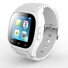 Robotsky Bluetooth Smart Watch luxury Wristwatch M26 Smartwatch with Dial SMS Remind Pedometer for Android Samsung Xiaomi Phone (White). Sync music ,Sync phone clock to wristwatch ,Sync 1000 phonebook, 200 call log, 10 SMS , Sync message , With pushing message, such as MMS, QQ, Wechat, news title, Calendar events, etc.Sync such as LINE, Instagram Facebook (message), Gmail, CNN App, ZAKE, etc. Remote android phone camera operation . Can connect to all BT phone and tablet. Android smart…