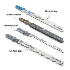 Choose the Right Jigsaw Blade | My Home My Style eNotes