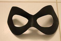 Harley Quinn Inspired Superhero Mask by MasksByMandy on Etsy