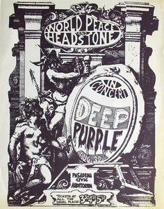 concert poster Deep Purple