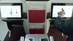 Austrian Airlines takes off with new long-haul cabin - Flying Steps show...