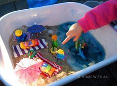 """Beach in a tub ("""",)"""
