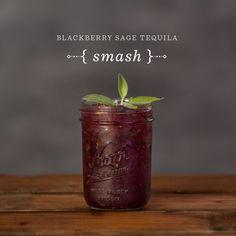 Blackberry Sage Tequila Smash Created withMixology Dice. 2 oz. tequila1 oz. grapefruit juice (freshly squeezed)3 large blackberries8 sage leaves2 cane...