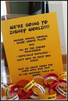 We're going to #Disney World Announcement!! {preschooler/toddler edition}