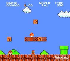 Super Mario Bros 8 bit (90's)