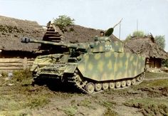 Panzer IV Ausf.H of 5.Kompanie/II Abteilung/Panzer-regiment 29/12.Panzer division. Ukraine,1944