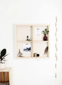DIY Canvas Shelf @themerrythought
