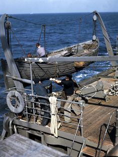 Robert Capa 1941 Atlantic Ocean