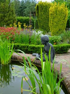 A beautiful garden is a true sanctuary--a place of contemplation and inspiration.