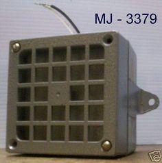 Thomas Industries Inc. - DC Electrical Horn / Speaker - P/N: KH909-24V (NOS)…
