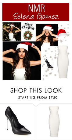 """Outfit #590"" by nmr135 ❤ liked on Polyvore featuring Victoria Beckham, Improvements, StreetStyle, Christmas, selenagomez and nmr"