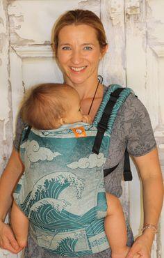 (Standard Size) Half Wrap Conversion Tula Baby Carrier - Oscha Okinami Sia