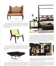 'Starring Trends from a Designer's Perspective' article I wrote featuring Oct 2013 #hpmkt trends for Texas Home & Living May/June 2013 issue