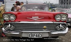 Red Classic Cadillac Auckland, the Very Vintage Day Out. Aucklanders welcome to The Very Vintage Day Out It is running at Original article: Zealand News, Auckland New Zealand, Shelby Gt500, Days Out, Yachts, Cadillac, Portal, Boats, Jet, Ships