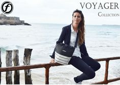 Voyager Collection Breton Tote. St Malo, France
