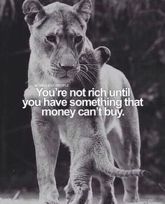 Money isn't everything! Double tap if you agree! Via @theclassypeople by foundrmagazine