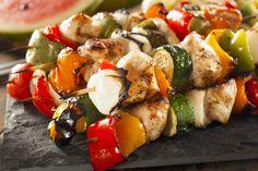 Greek Style Chicken Skewers – Kayla Itsines