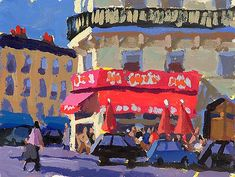 "Charles Sovek, Artist and Author | Exhibition Gallery Archive: ""April in Paris"""