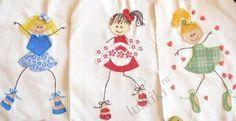 Аппликации из ткани для детских вещей