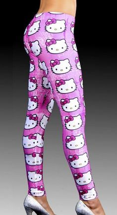 Women's Hello Kitty Leggings - Hot100Fashions
