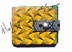 Non rust studs. Fabric Wallet, Sling Bags, Rust, Wallets, Studs, Handmade, Crafts, Hand Made, Manualidades