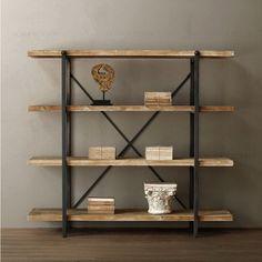 estantes de madera gruesos - Buscar con Google