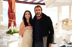 Lorena Baricalla'endorsement of Montblanc Monaco Jewelry  with Eric Cantona