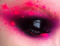 NEON GALAXY ⠀ For my eye makeup I used @vg_professional in 037, @nyxcosmetics_pl Primal Colors in 04 and 01 (hot black) - the blackest black eyeshadow ever Shocking Pink Neon Pro Paint @graftobianmakeup ⠀⠀ #brows #beauty #makeupaddict #colorfulmakeup #mua #makeupartist #lovemakeup❤️ #fashion #shimmery #eyeliner #inglot #makeupgeek #houseoflashes #purplemakeupideas #sorokamakeup #neon #pinkmakeup #glowymakeup #eyeliner #art #inspiration #cutcreaseeye #smokeyeye #glossy #glossymakeup...