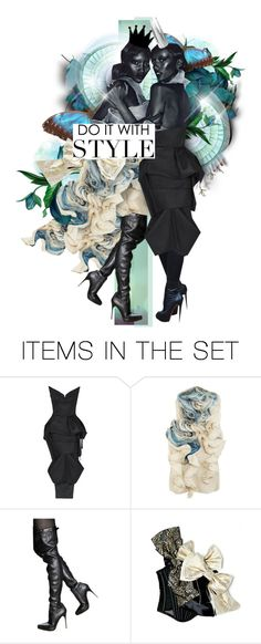 """""""ŦWINS"""" by lavida ❤ liked on Polyvore featuring art"""