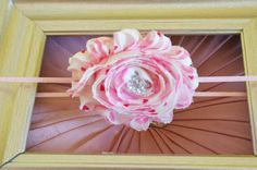 Pink and White Heart Print Shabby Chic by OnceUponATimeTuTus, $2.99
