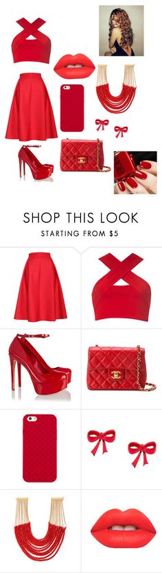 """Untitled #44"" by rainaaaskyy ❤ liked on Polyvore featuring Relaxfeel, Motel, Schutz, Chanel, Tory Burch, Rosantica and Lime Crime"
