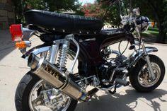 1970 Honda CT70. Customised. Owner: HymieP
