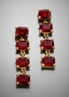 WA STUDIO 4-Stone Linear Earrings