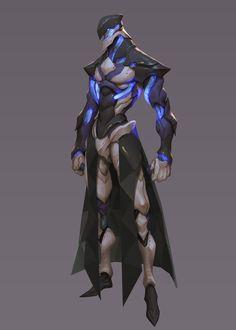 Some of my recent practice works. Alien Character, Cyberpunk Character, Cyberpunk Art, Character Art, Fantasy Character Design, Character Design Inspiration, Character Concept, Alien Concept Art, Armor Concept