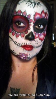 Day of the Dead, Dia De los Muertos, Face paint