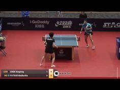 CHEN Xingtong   PATKAR Madhurika 2017 Australian Open 호주오픈탁구대회